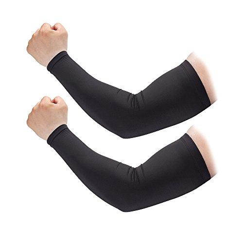 Brisk Arm Warmers Sleeve Elbow Warmers Biking Thermal Outdoor Unisex Pair