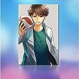 DIRART Rahmenlos DIY Digitale Malerei Volleyball Junge