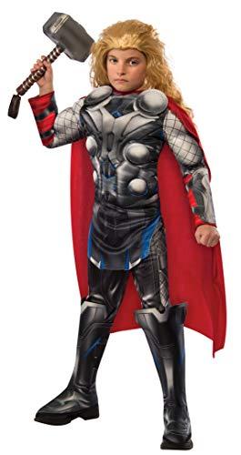 Rubie's-déguisement officiel - Marvel- Déguisement Pour Enfant Luxe Thor Avengers 2 - Taille M- I-610433M