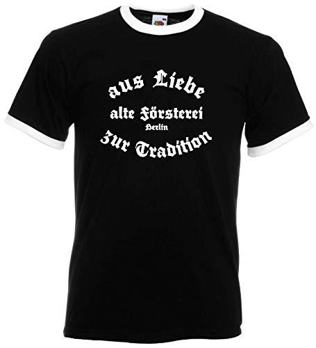 world-of-shirt / Berlin Herren Retro alte Försterei Stadion