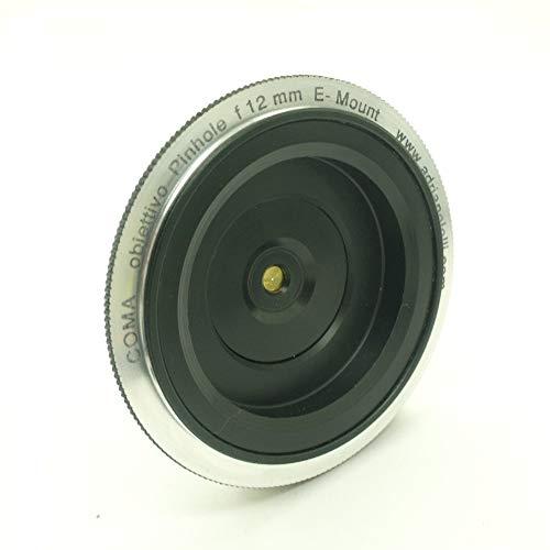 Pinhole-Objektiv für spiegellose e-mount f12 mm