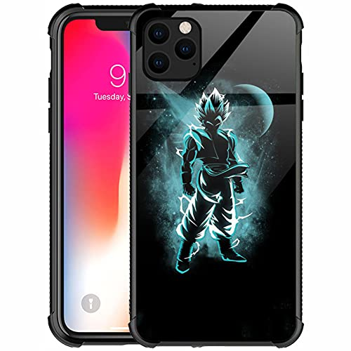 Goodsprout Compatible with iPhone 13 Pro Max Case,Blue Superman Anime Pattern Design Shockproof Non-Slip Case for Apple iPhone 13 Pro Max