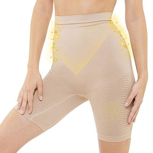 LIPO ACTIF - Panty Cintura Alta Vientre Plano - Día/Noche - Enfundante y Adelgazante -...
