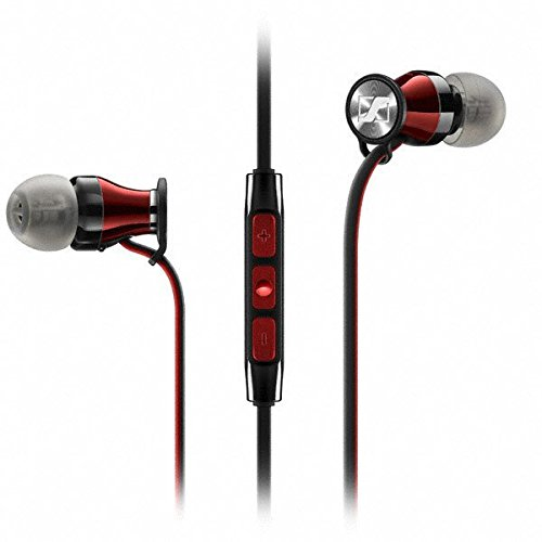 Sennheiser HD1 In-Ear Headphones (iOS version) - Black Red (Discontinued by Manufacturer)