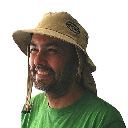 airSUP Bucket Hat for Stand Up Paddle Surf & Sun Protection Wide Brim Fast Drying Polyester Sand...