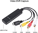 Cleantt Video Audio VHS VCR USB Video Capture Card to DVD Converter Capture Card...