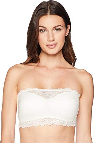 Details about  /ToBeInStyle Women/'s Sheerback Lace Bandeau