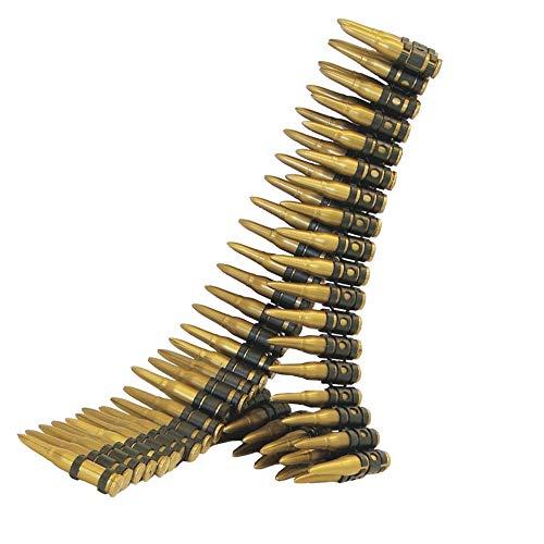 SMIFFYS Smiffy\'s Cartuccera, oro 96 proiettili, 150 cm di lunghezza Custodia per Fotocamera Panasonic per Adulti, Dorato, 25996