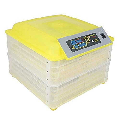 Zinnor Egg Incubator, 96 Digital Fully Automatic Incubator for Chicken Eggs, Automatic Turning Chicken (USA Shipping)