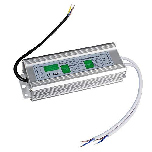 LED Transformator 120W/10A Trafo. Netzteil Adapter Driver für Stripe 230V auf DC 12V