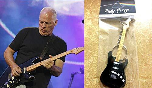 Schlüsselanhänger Gitarre Fender David Gilmour Stratocaster Pink Floyd