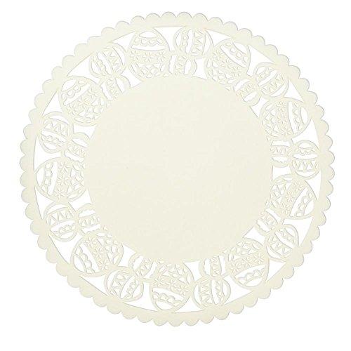 Clayre & Eef FE040.021M placemat (6 stuks) ca. Ø 35 cm