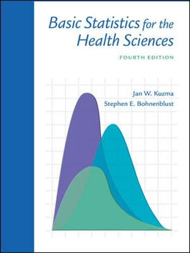 Basic Statistics for the Health Sciences with PowerWeb