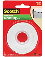 Scotch 110 Çift Taraflı Yapışkan Köpük Bant 12.7 mm x 1.9 m