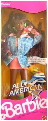 Barbie All American Christie Doll w Japan Maker New Shoes Reebok New mail order AA 1990