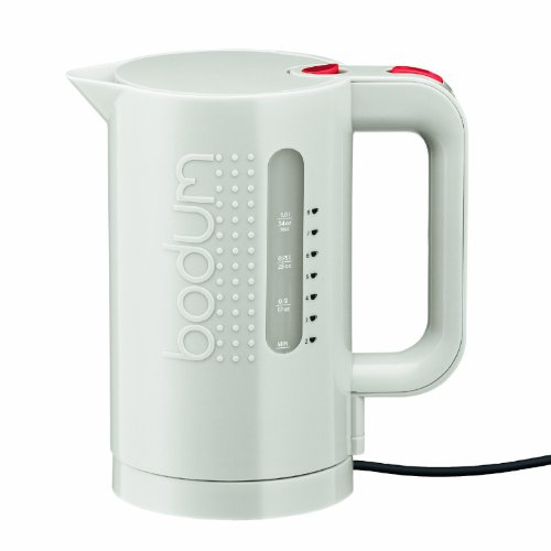 Bodum 11452-913US 34-Ounce Electric Water Kettle, White [並行輸入品]