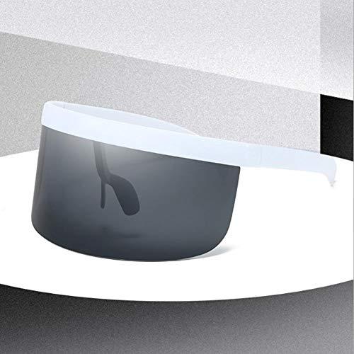 Millster Sport-Sonnenbrille mit Blick Rahmen im Freien, Sonnenbrille mit Spiegelhaube, Windschutz für den Außenbereich und Sonnenbrille mit UV-Schutz