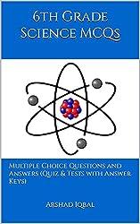 6th Grade Science Quiz, MCQs & Tests