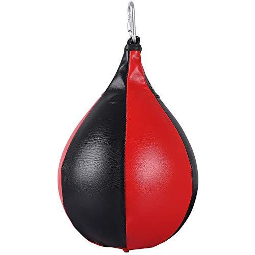 GOODGDN Boxing Speed Ball, Hängende Boxball Birnenball Dodge Hanging Sporttraining Leder Erwachsene Professionelle Kampf Männer Und Frauen