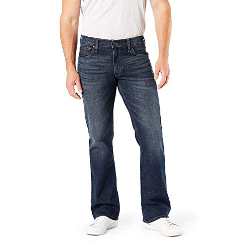 Signature by Levi Strauss & Co. Gold Label Men's Bootcut Fit Jeans, Headlands, 34W x 32L