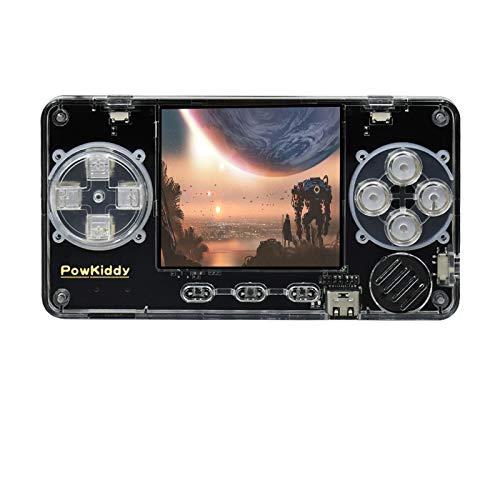 """Powkiddy Consola Retro Portatil con 4000 Juegos, Mini Consolas Videojuegos 2.0\"""" Trimui Model S soporta Arcada, PS, GBA, Whatsko Model S consola de juegos portátil 600MAh"""