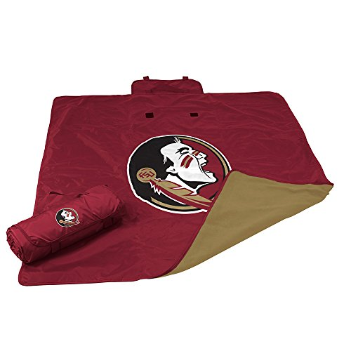 NCAA Florida State Seminoles Adult All Weather Blanket, Maroon