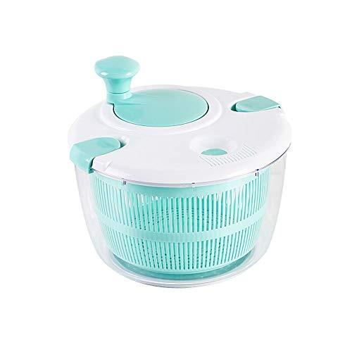 FAMILYA Kleines Salatschleuder Dörrobst Und Gemüsesalat Decanter Salatschleuder Wasserfilter Korb Obst Ablassen Basket