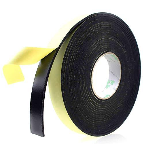Foam Insulation Tape Adhesive, Seal, Doors, Weatherstrip, Waterproof, Plumbing, HVAC, Windows,...
