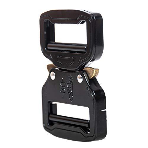Dual Adjustable No-Sew Tactical Belt Buckle (2.0)
