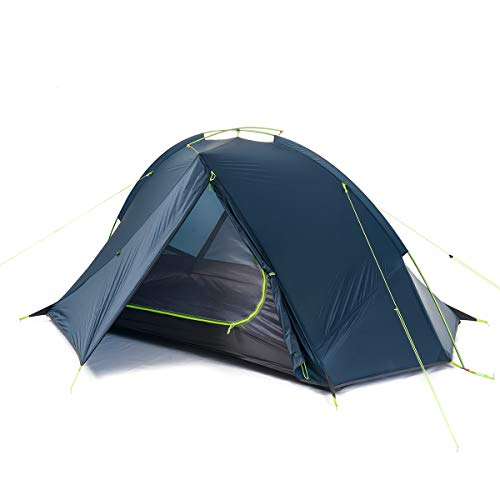 Naturehike Taga 2 Person Lightweight Backpacking Tent Outdoor Camping Tent (2P - Dark Blue)