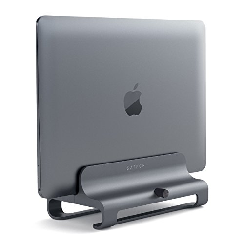 Satechi Universal Vertical Aluminum Laptop Stand - Compatible with MacBook, MacBook Pro, Dell...