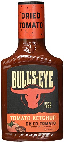 Bull\'s Eye Tomato Ketchup Dried Tomato, Getrocknete Tomaten, Squeezeflasche, 4er Pack (4 x 425 ml)