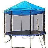 TEVEILS Trampoline Canopy Trampoline Sunshade Without Frame Rainproof...