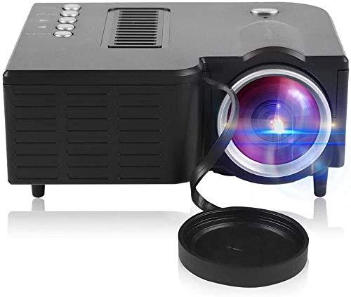 Mini Projector Draagbare Projector Home Theater Film Video Multimedia Speler voor Outdoor Recreatie Home Theaters (Zwart)