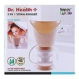 FORTUNSHOP Dr.Health 3 In 1 Plastic Steam Inhaler for Wellness Inhalation for Facial