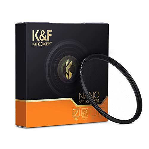 【国内正規品】K&F Concept NANO-X ブラックミスト 1/4 フィルター 67mm MRCナノコーティング 薄枠設計 KF-67BM1/4