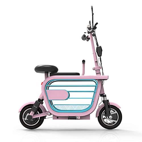 SQDYJ Elektrische elektrische step, inklapbaar, lithium batterij kan kostbare dieren, kleine step met twee wielen voor vrouwen
