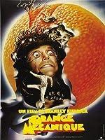 Y時計仕掛けのオレンジ–フランスから輸入された映画の壁ポスター印刷-30CM X 43CM