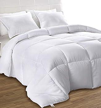 Best full size white comforter Reviews