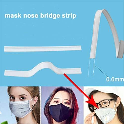 Neusbrug, gereedschap ter bescherming van het gezicht, accessoires voor neusbrug, ter bescherming van het gezicht, gemakkelijk te snijden en te rekken. 1000pièces