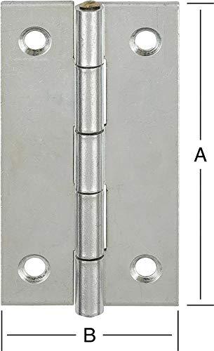 Format 4003984010689–Scharniere schmal 60x 34mmnr. 501060z