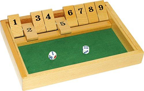 Traditional Shut The Box - Jeux de Société (Import Grande Bretagne)