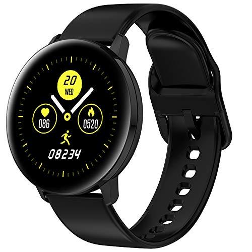 TD28 Smart Kijk Bloeddrukmeting Waterproof Smartwatch Mannen Vrouwen Heart Rate Oxygen Monitor Whatsapp Reminder Watches,Black