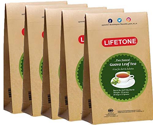 Guavenblatt Tee | Immunitätsverstärker | Detox Tee (100 Teebeutel)
