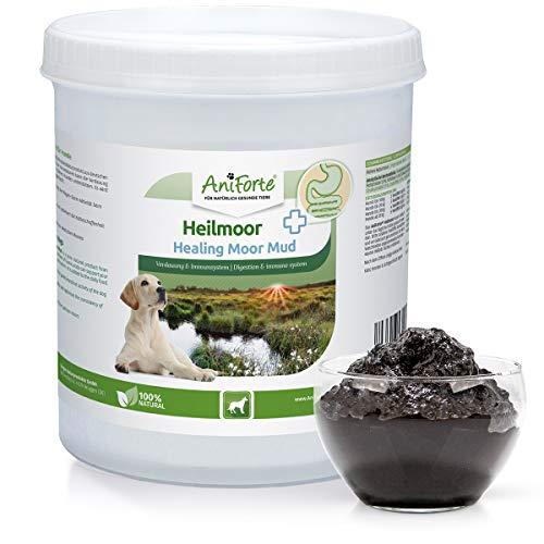 AniForte Heilmoor für Hunde 1,2kg - Verbessert die Kotbeschaffenheit, Verdauung, Immunsystem, Magen-Darm-Aktivität, Anregung Appetit - Natürliche Heilerde für Hunde mit hoher Akzeptanz