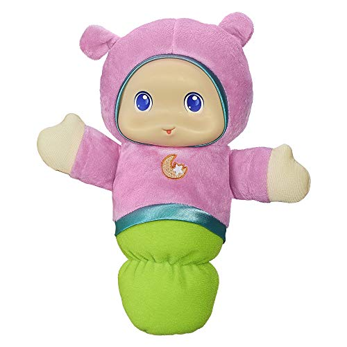 Playskool Pink Glo Worm Stuffed Lullaby Toy for Babies with Soothing Melodies...