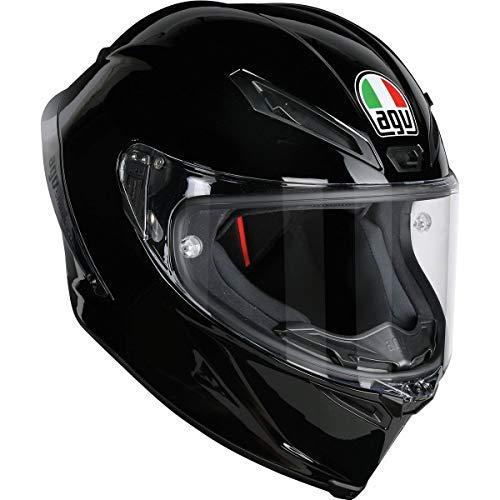AGV Unisex-Adult Full Face Helmet (Black, X-Large)