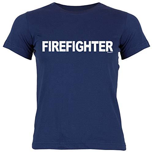 Feuerwehr-Shirt/Mädchen-Kinder Freizeit Bekleidung : Firefighter - Geschenkidee