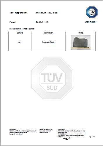 Kronenburg Schutzhülle Strandkorb aus 420 D Oxford Gewebe - Abdeckung für Gartenmöbel - 4
