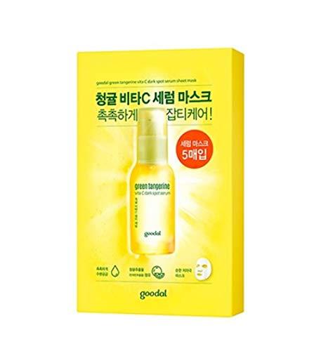 [Goodal] Green Tangerine Vita C Serum Mask (5ea)